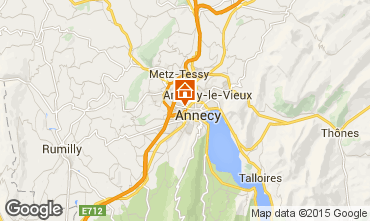 Mappa Annecy Monolocale 79533