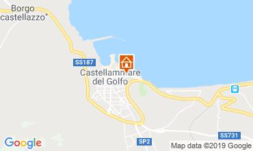 Mappa Castellammare del Golfo Appartamento 104710