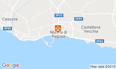 Mappa Marina di Ragusa Appartamento 119624