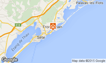 Mappa Frontignan Villa  78184
