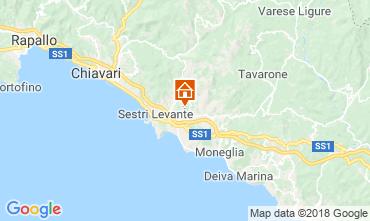 Mappa Sestri Levante Appartamento 116159