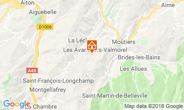Mappa Valmorel Monolocale 117463