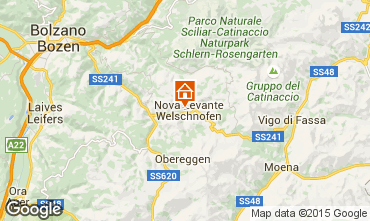 Mappa Carezza Appartamento 38385