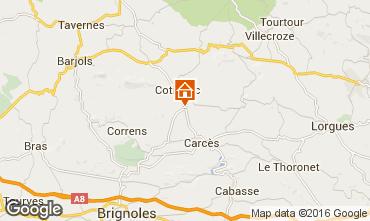 Mappa Cotignac Monolocale 99892