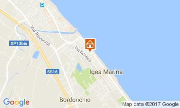 Mappa Bellaria Igea Marina Appartamento 107982