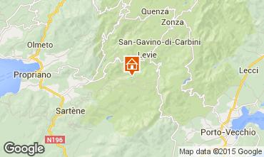 Mappa Sainte Lucie de Tallano Villa  98325