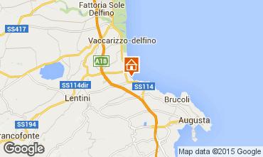 Mappa Brucoli Appartamento 53035