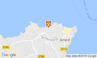Mappa Dinard Villa  108827