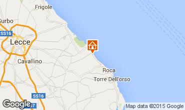 Mappa San Foca Villa  24434