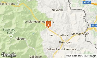 Mappa Serre Chevalier Chalet 14631