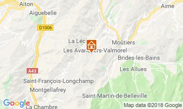 Mappa Valmorel Appartamento 59108