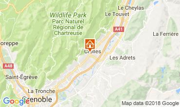 Mappa Grenoble Casa 115405
