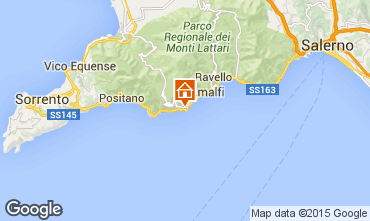 Mappa Conca dei Marini Casa 100979