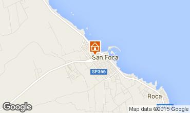 Mappa San Foca Appartamento 70734