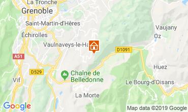 Mappa Chamrousse Appartamento 30487