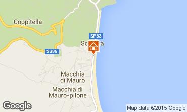 Mappa Vieste Appartamento 62381