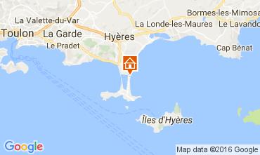 Mappa Hyères Villa  106297