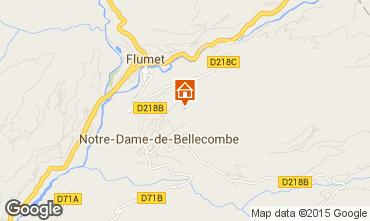 Mappa Flumet Val d'Arly Appartamento 80441