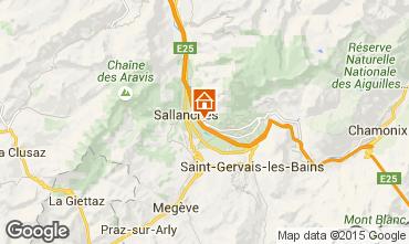 Mappa Sallanches Appartamento 4911