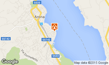 Mappa Arona Appartamento 36668