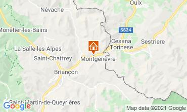 Mappa Monginevro Appartamento 91157