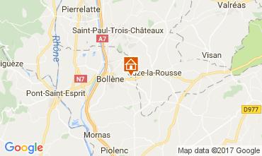 Mappa Vaison la Romaine Casa 101053