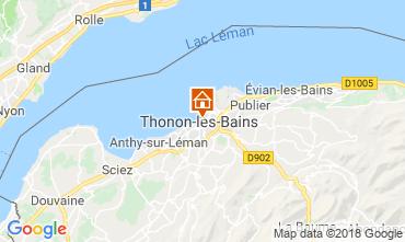 Mappa Thonon Les Bains Appartamento 114583