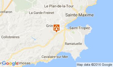 Mappa Saint Tropez Appartamento 93460