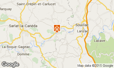 Mappa Sarlat Casa 76611