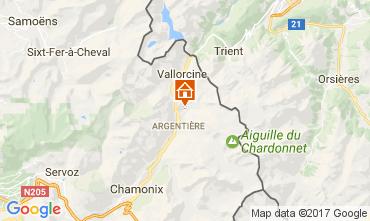 Mappa Argentière Appartamento 109896