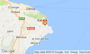 Mappa Jávea Villa  112816