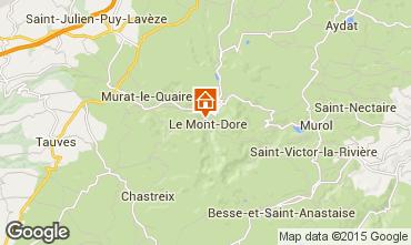Mappa Le Mont Dore Appartamento 91221