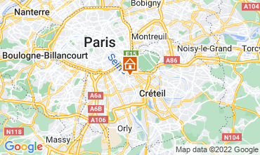Mappa PARIGI Appartamento 13776