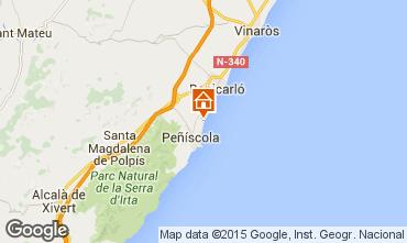 Mappa Peñíscola Appartamento 98508