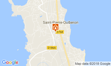 Mappa Quiberon Casa 8772