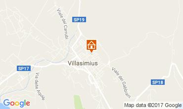 Mappa Villasimius Appartamento 110509