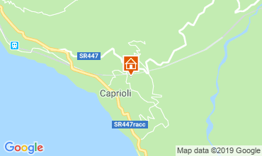 Mappa Palinuro Appartamento 118281