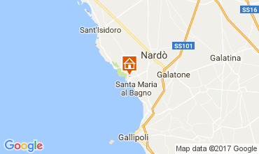 Mappa Gallipoli Appartamento 84405