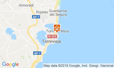 Mappa Torrevieja Appartamento 117796