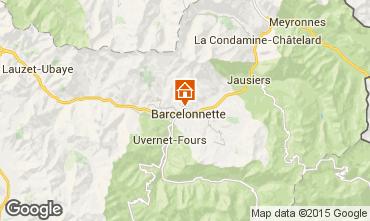 Mappa Barcelonnette Appartamento 2312