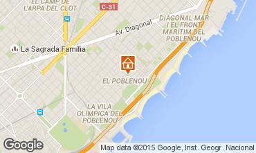 Mappa Barcellona Appartamento 88882