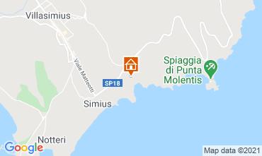 Mappa Villasimius Villa  108476