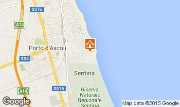 Mappa San Benedetto del Tronto Appartamento 85875