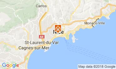 Mappa Nizza Appartamento 114672