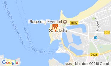 Mappa Saint Malo Appartamento 19262
