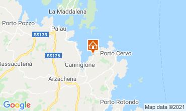 Mappa Baja Sardinia Villa  52758