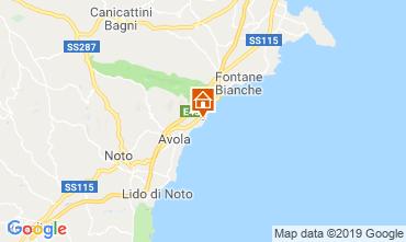 Mappa Avola Villa  113727