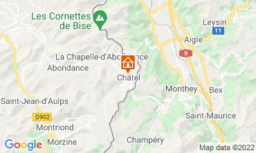 Mappa Ch�tel Chalet 40517
