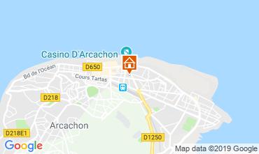 Mappa Arcachon Appartamento 117921