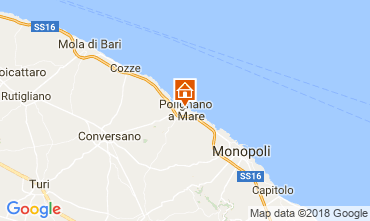 Mappa Polignano a Mare Casa 115551